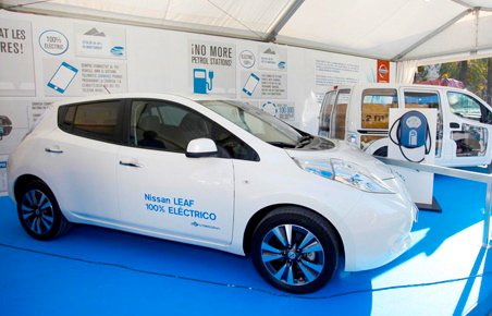 Nissan leads the market for electric vehicles